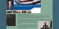 Screenshot for Representative Tallman's site